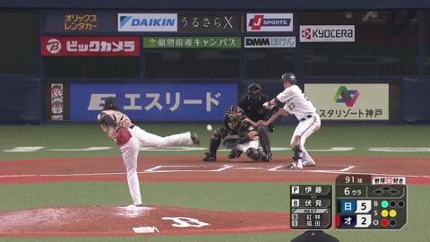 【6回裏】ファイターズ・伊藤 6回2失点の好投を見せる!! 2021/6/24 B-F