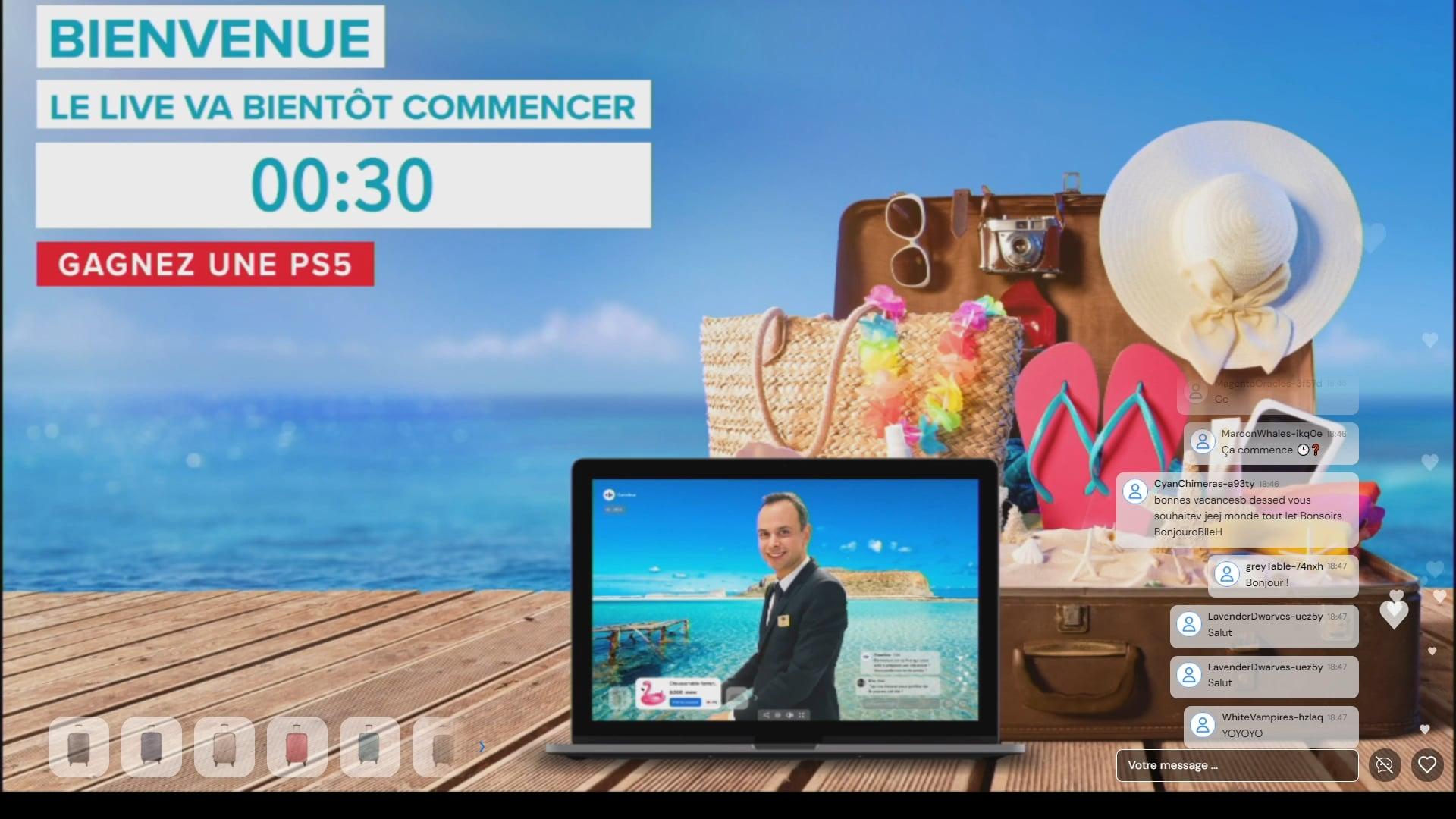 [Replay] - Le live des Grandes Vacances - Carrefour - 24 juin 2021