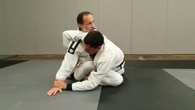 Enchainement de hip bump à kimura en garde fermée