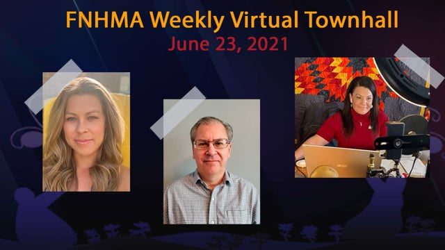 FNHMA Town Hall (ENG) June 23, 2021