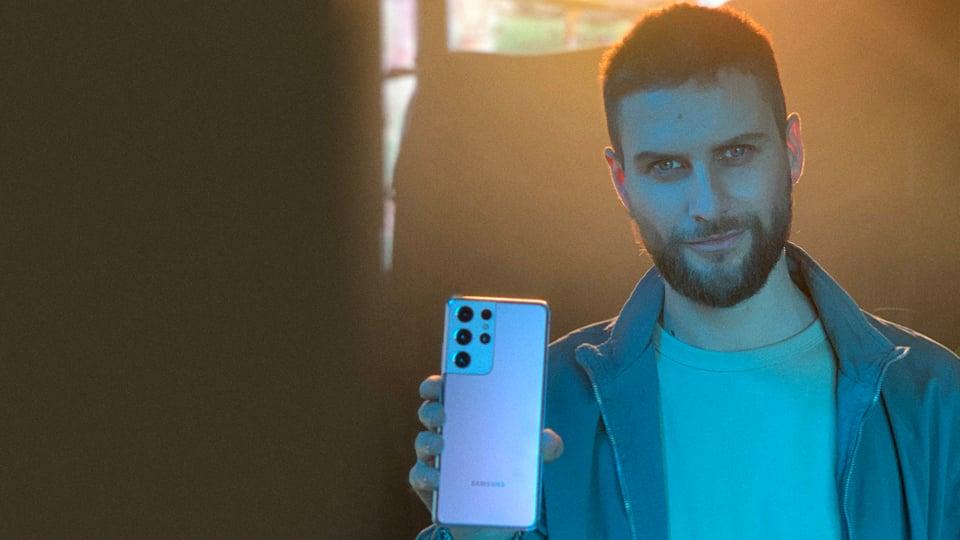 Jean Philippe Cretton Campaña Galaxy S21 Samsung