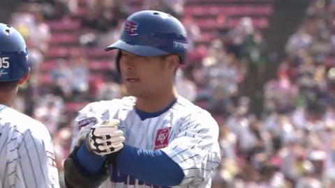 【1回裏】イーグルス・茂木 走者一掃のタイムリー3ベースヒットで逆転!! 2021/6/26 E-H
