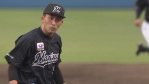 【7回裏】マリーンズ・小島 7回2失点の好投で今季4勝目を挙げる!! 2021/6/27 F-M