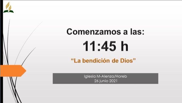 La bendición de Dios