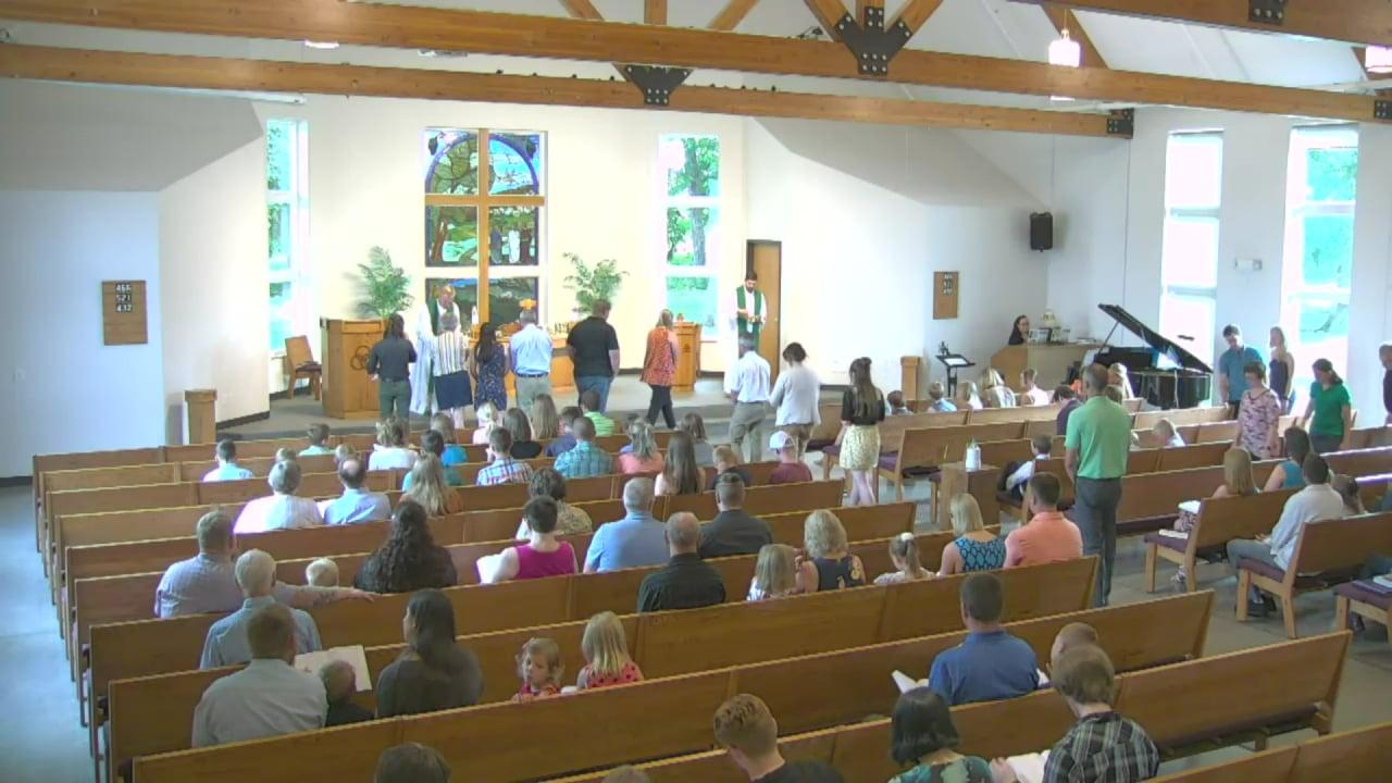 Peace Lutheran Service June 27, 2021