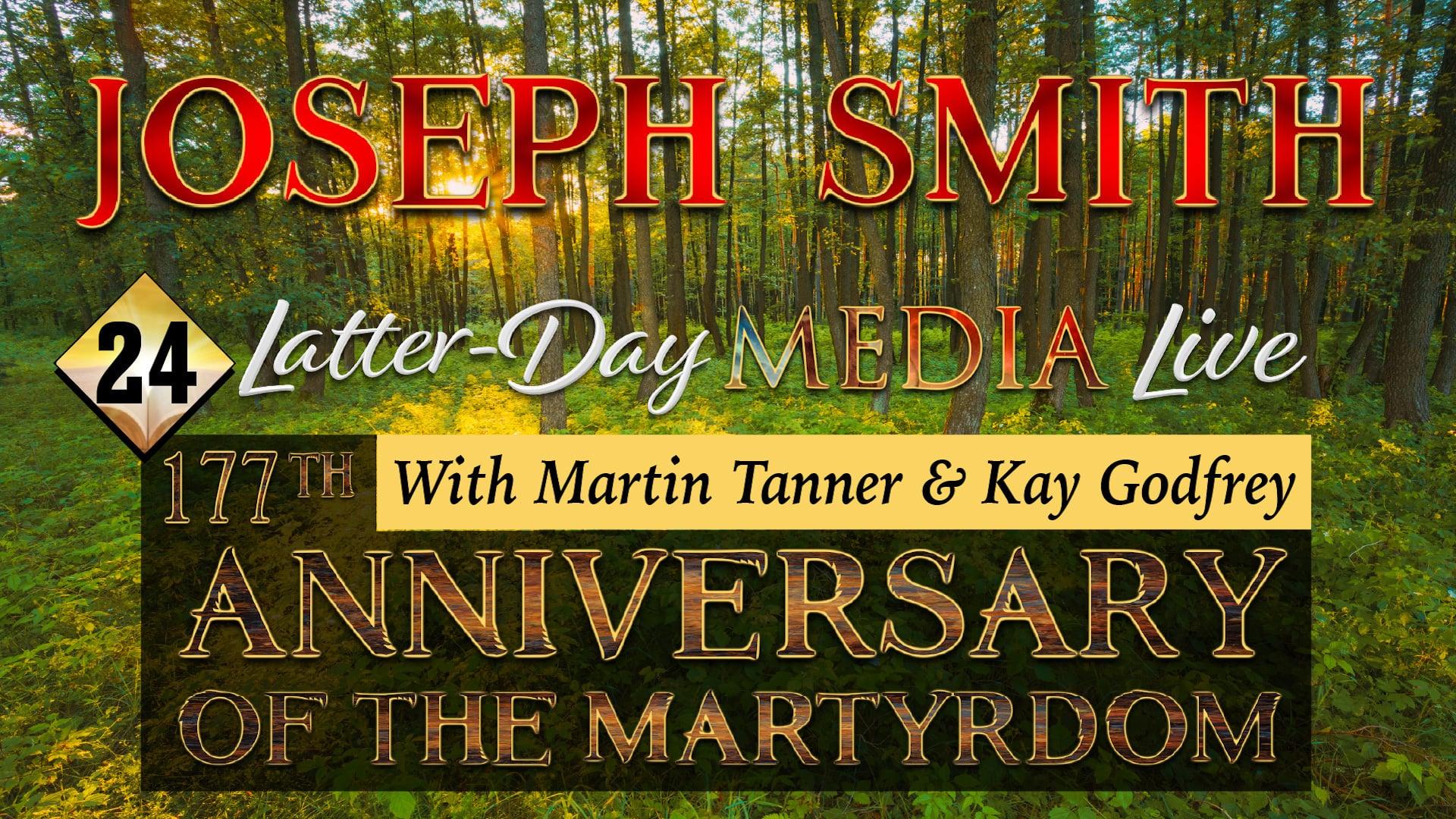 24 Latter-Day Media Live - Kay Godfrey & Martin Tanner