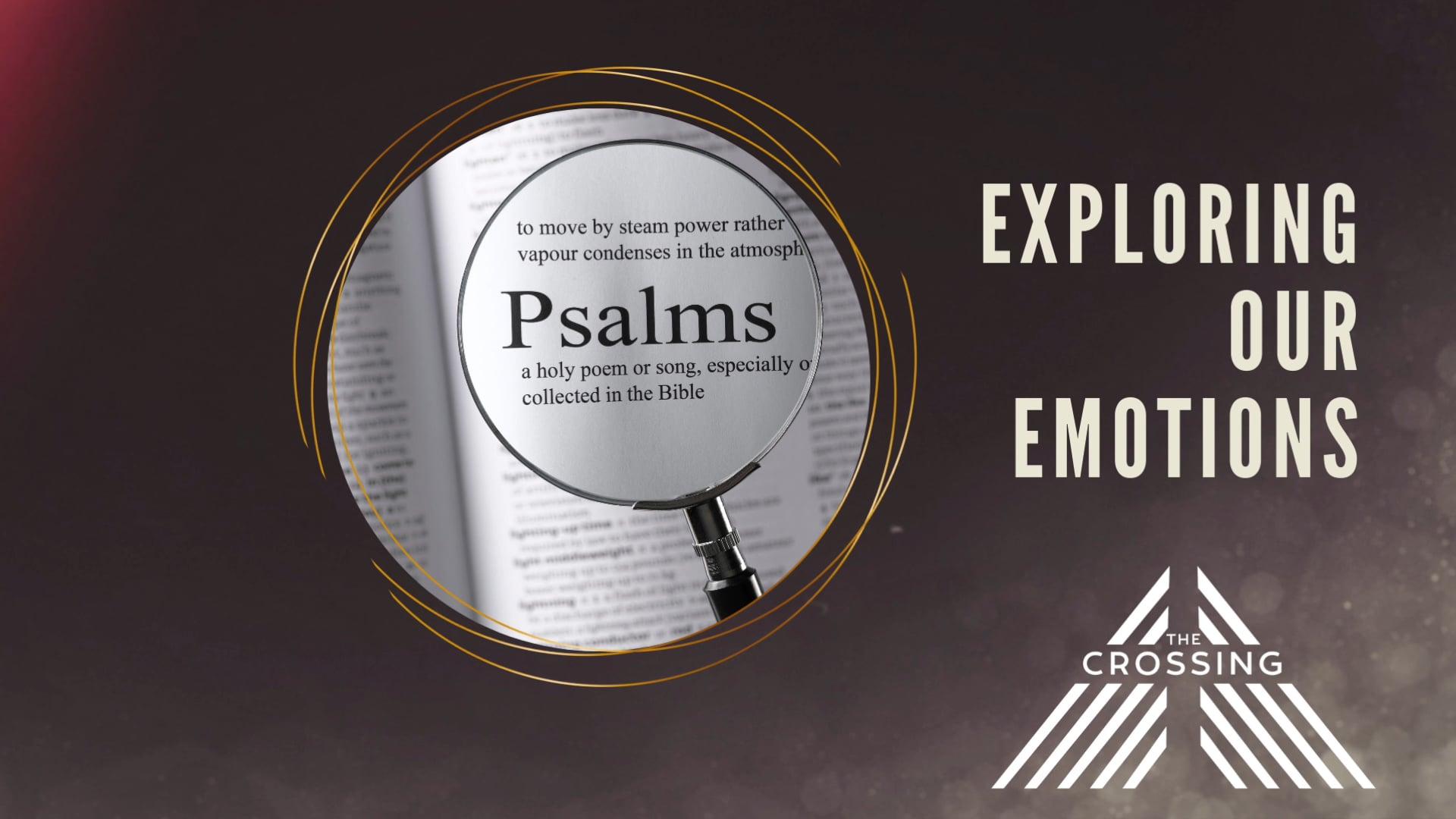 2021 June 26 Exploring Emotions Psalm 32