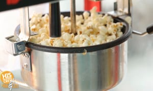 A popcorn machine, and rollercoasters?! GET OUT this summer with HIS Radio!