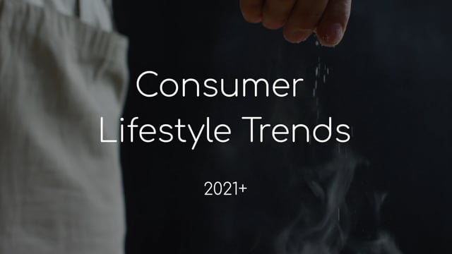 An Introduction to the Consumer Lifestyle Trends