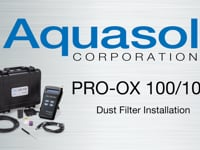 Dust Filter for Pro OX 100 and Pro OX 100B