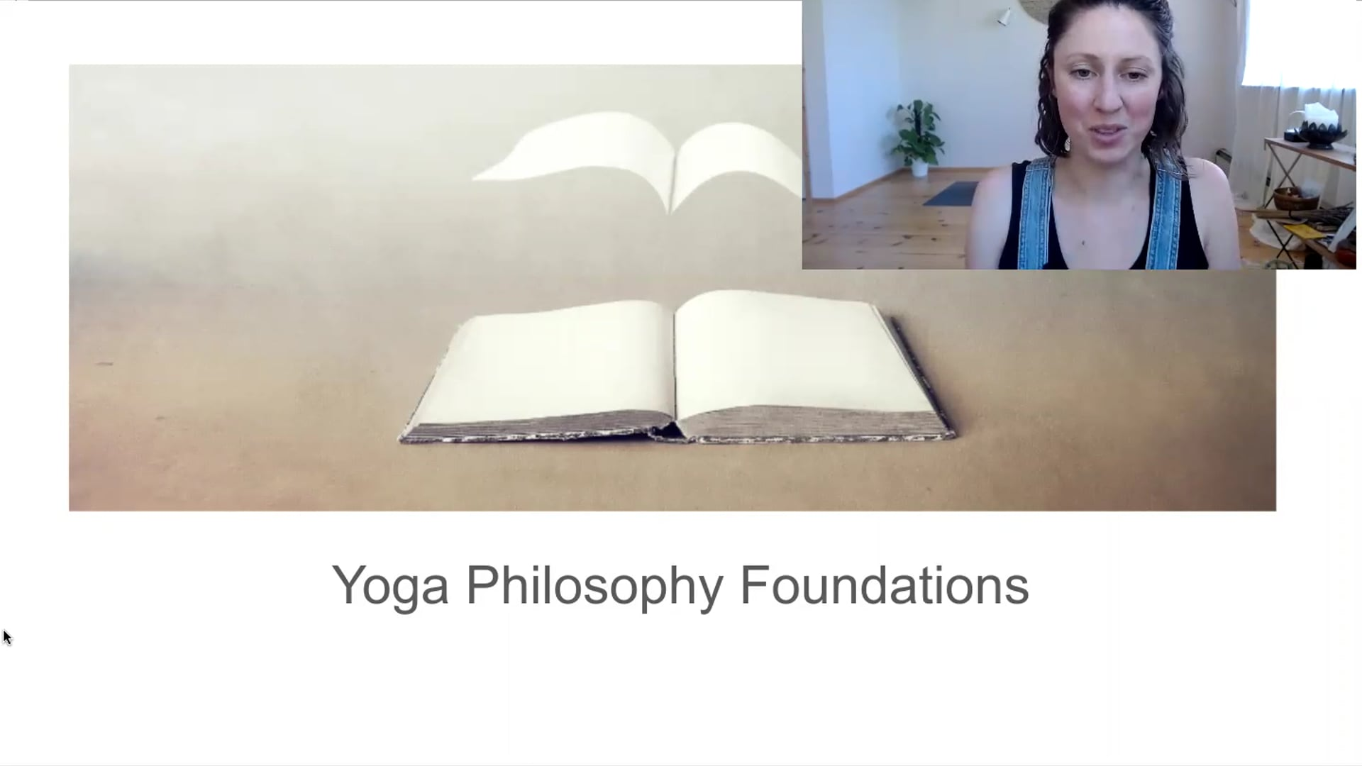 """10 min """"Foundations of Yoga Philosophy"""" Lecture Workshop"""