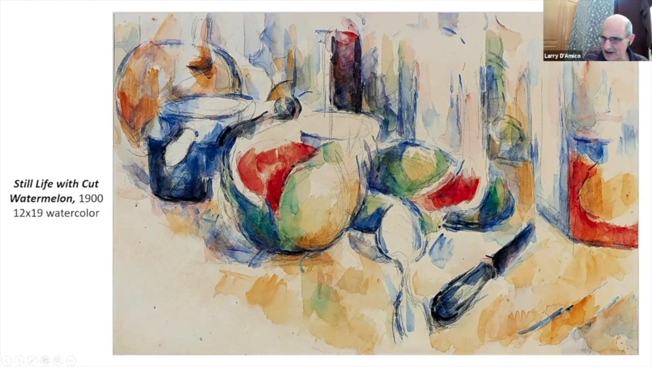 Art Talk: Cezanne Drawing