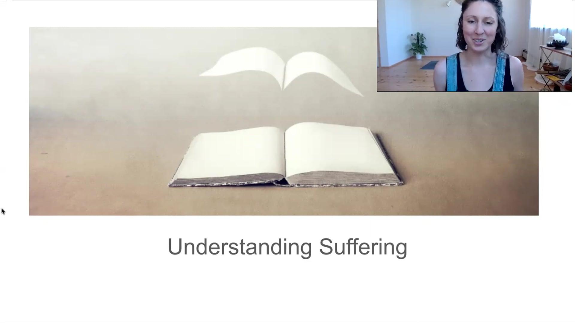 "20 min ""Understanding Suffering"" Workshop Lecture"