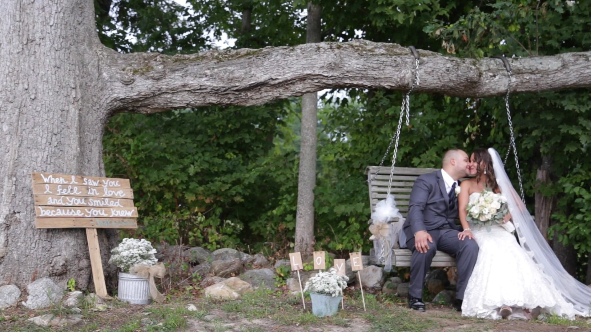 Amy & Justin August Wedding Priam Vineyards