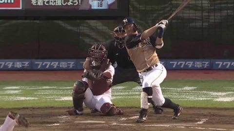 【4回表】ファイターズ・渡邉 センターバックスクリーンへの今季第2号ソロホームラン!! 2021/6/29 E-F