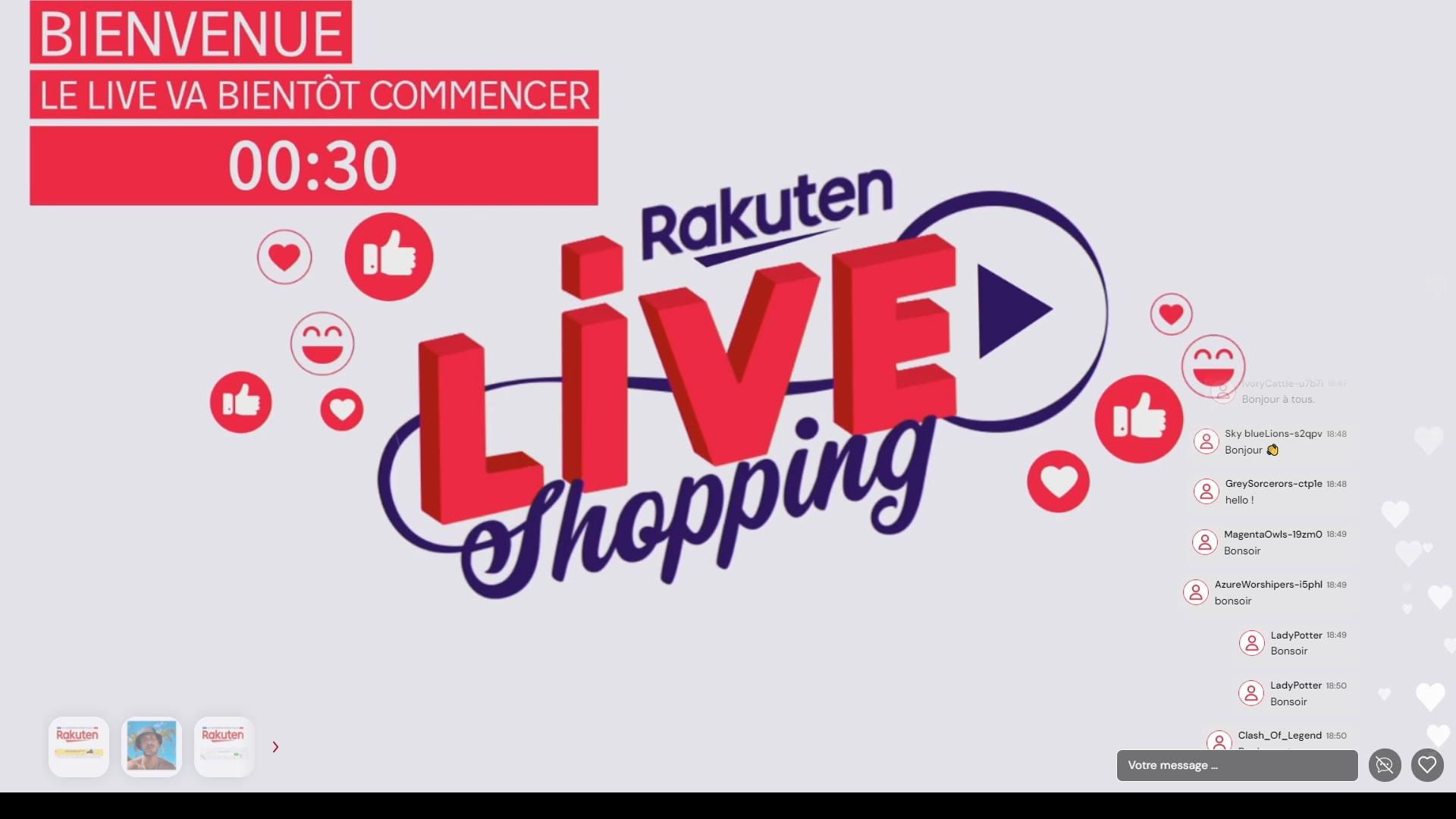 [Replay] - Live spécial seconde main - Rakuten - 29 juin 2021