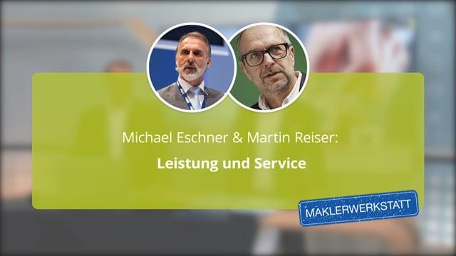 Martin Reiser & Michael Eschner: Leistungen und Service