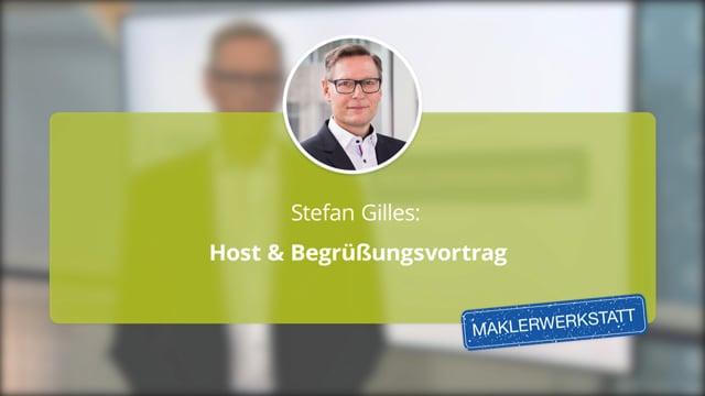 Stefan Gilles: Begrüßung Tag 2