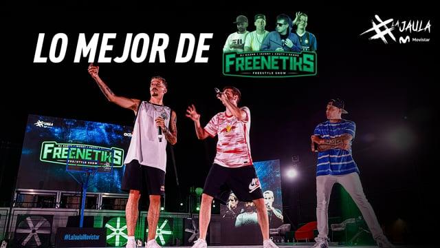 Los mejores momentos de Freenetiks en La Jaula Movistar