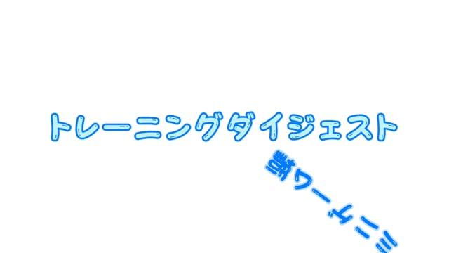 トレーニングダイジェスト_ミニゲーム編