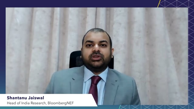 """Watch """"<h3>BNEF Talk: India's Net-zero Target: Opportunity or Burden? by Shantanu Jaiswal, Head of India Research, BloombergNEF</h3>"""""""