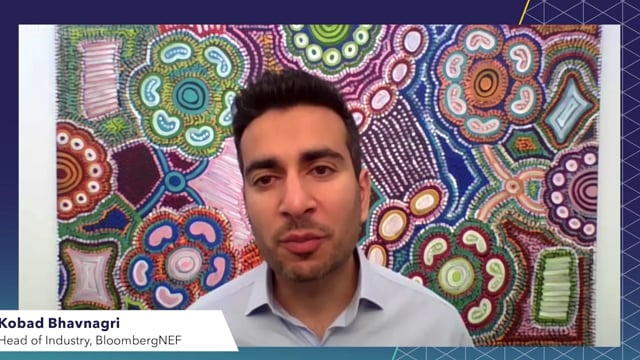 """Watch """"<h3>BNEF Talk: Building Bridges to a Hydrogen Economy by Kobad Bhavnagri, Head of Industry, BloombergNEF</h3>"""""""