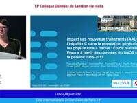 11.35 - 12.50 : Session de communications orales