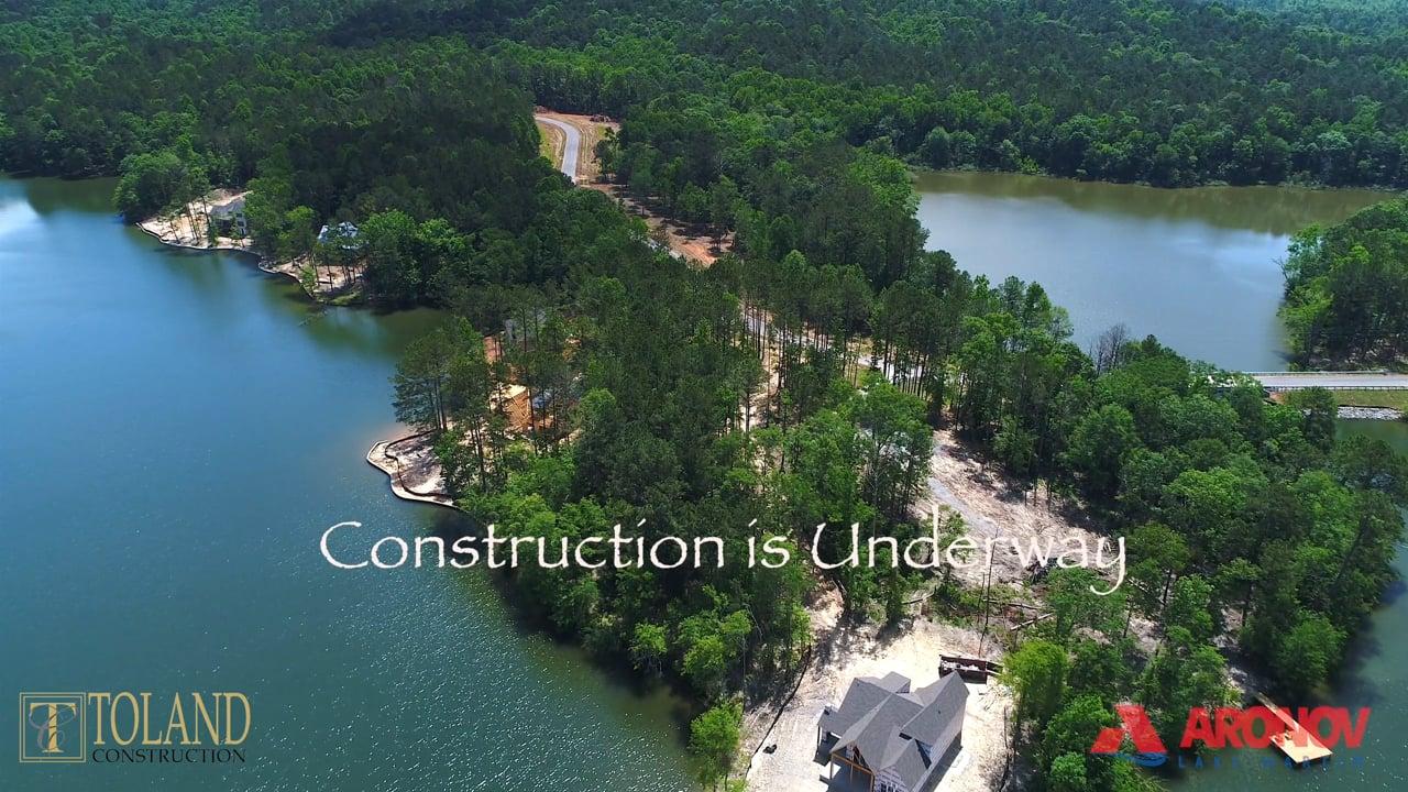 Miners Cove Phase 1 Development Progress