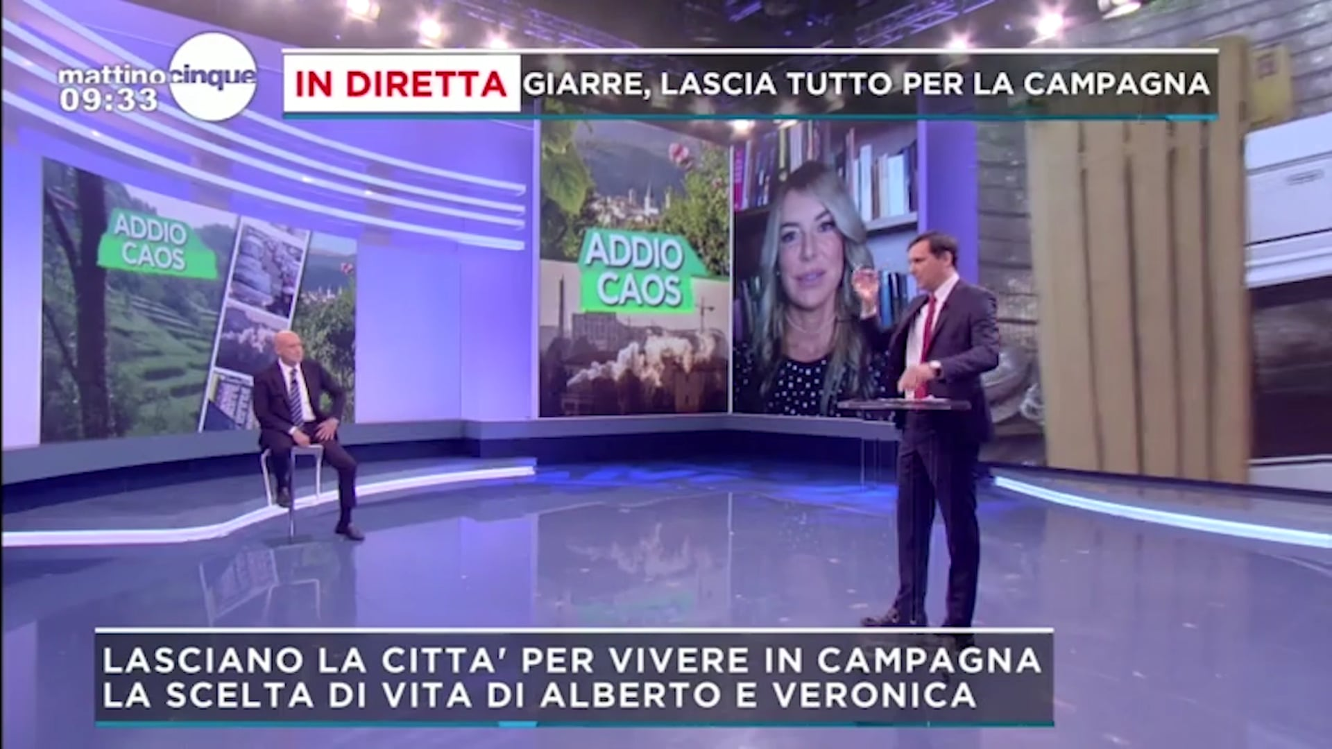 "Francesca Cenci intervento a ""Mattino 5"" 21.06.21"