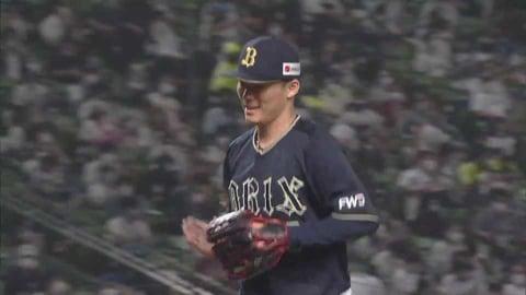 【7回裏】バファローズ・山本 7回2失点の好投でリーグトップタイの8勝目へ!! 2021/7/2 L-B