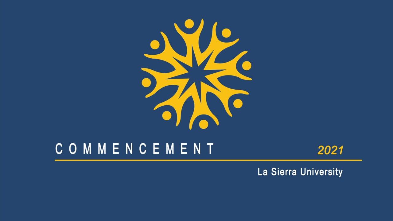 La Sierra University Commencement Drive-Through Graduation 2021 Riverside California