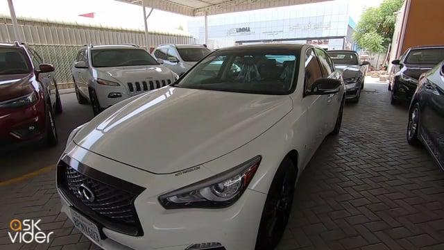 INFINITI Q50 - WHITE - 20...