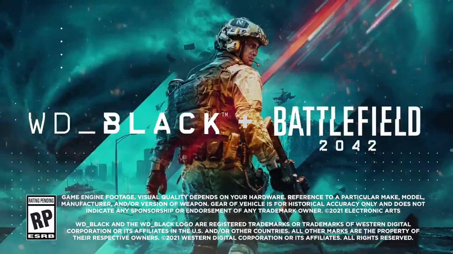 EA: Battlefield 2042 x WD_BLACK