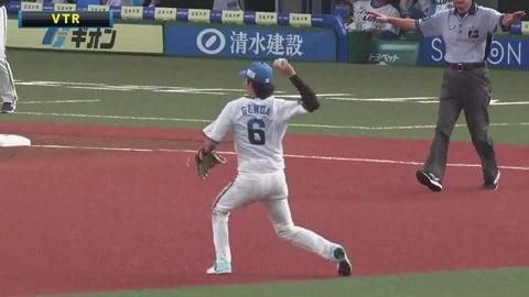 【9回表】これが球界屈指のショートストップ!! ライオンズ・源田 追加点を阻止する超ファインプレー!! 2021/7/4 L-B