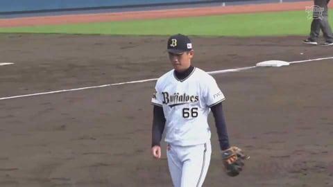 【ファーム】バファローズ・吉田凌 全てのアウトを三振で奪う好投!! 2021/7/4 B-T(ファーム)