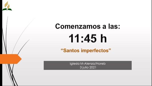 Santos imperfectos