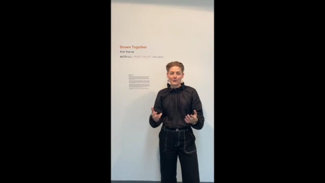 Erin Dunne speaks about the Flying Arts Exhibition Development Program