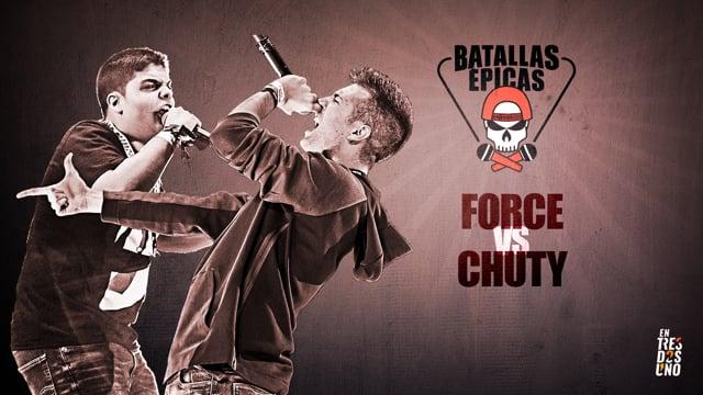 Force vs Chuty | Batallas Épicas by Invert