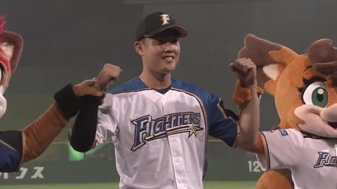 ファイターズ・高濱選手ヒーローインタビュー 7/6 F-L