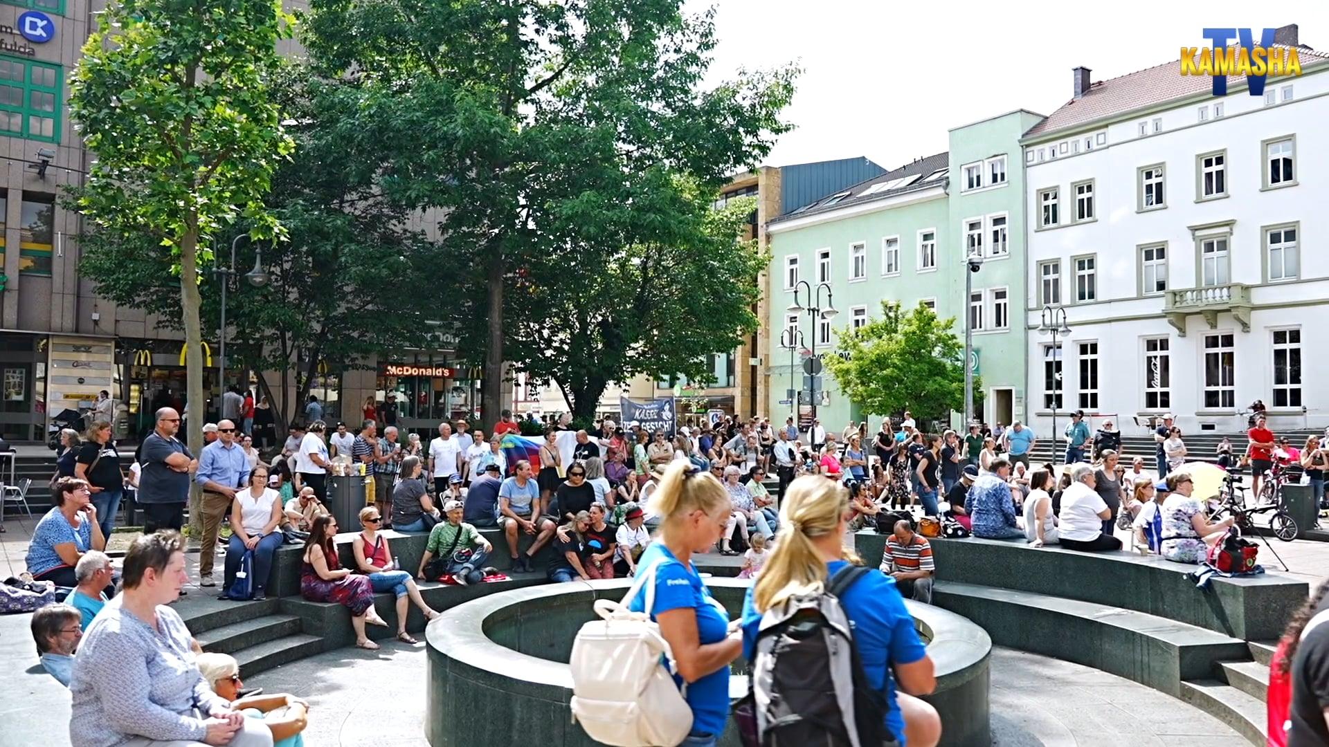 Demo für Frieden + Freiheit in Fulda am 03.07.2021