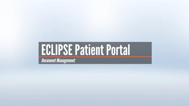 Patient Portal – Document Management