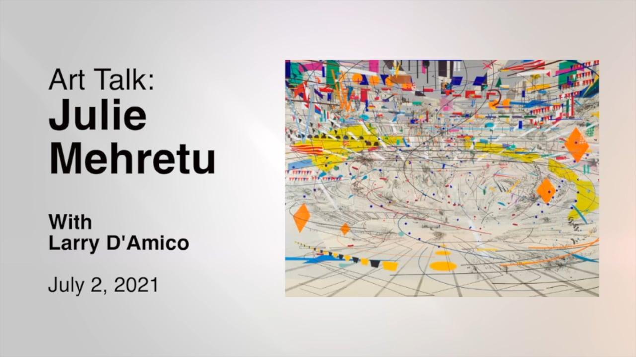 Art Talk: Julie Mehretu