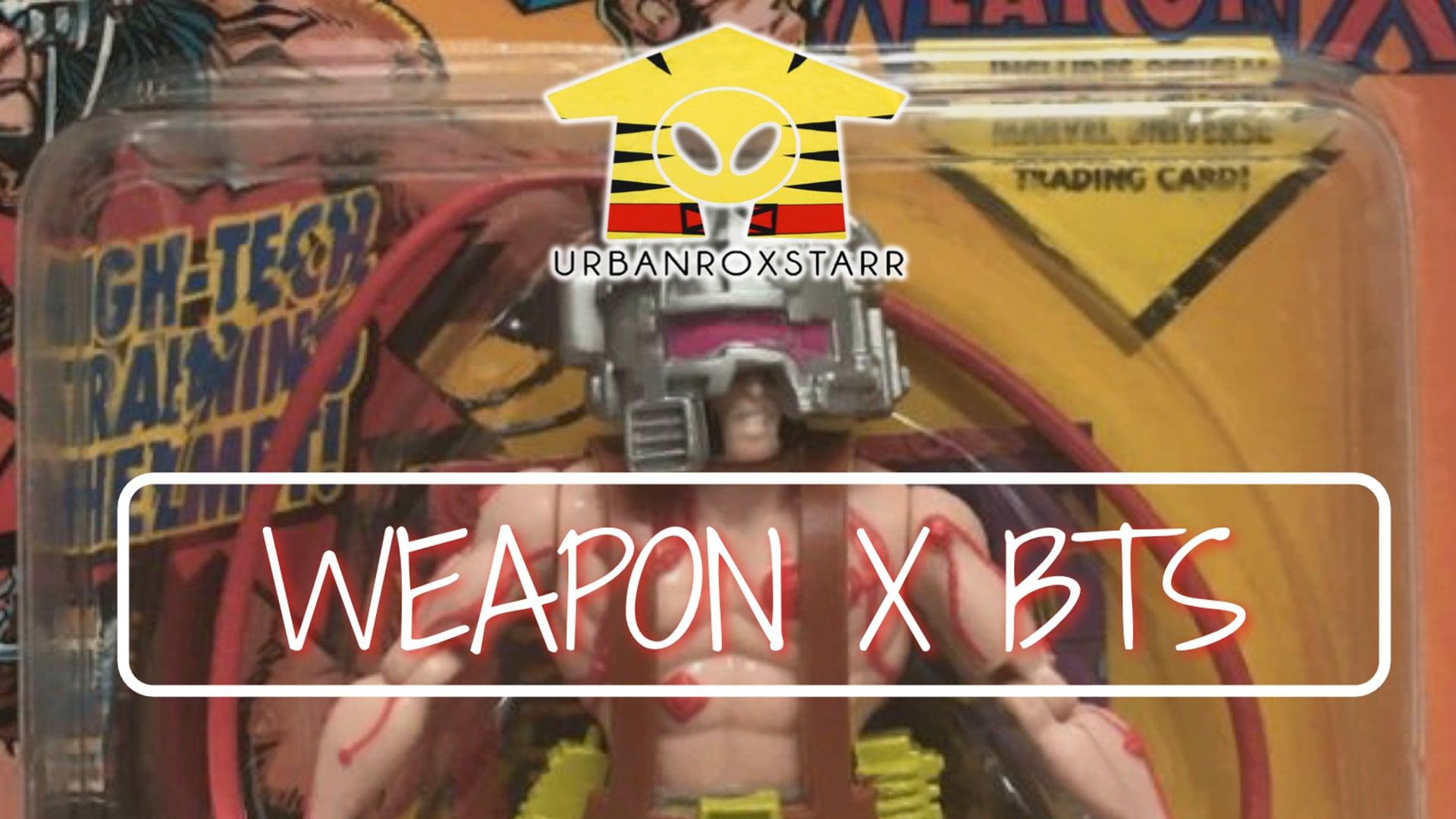 Weapon X BTS
