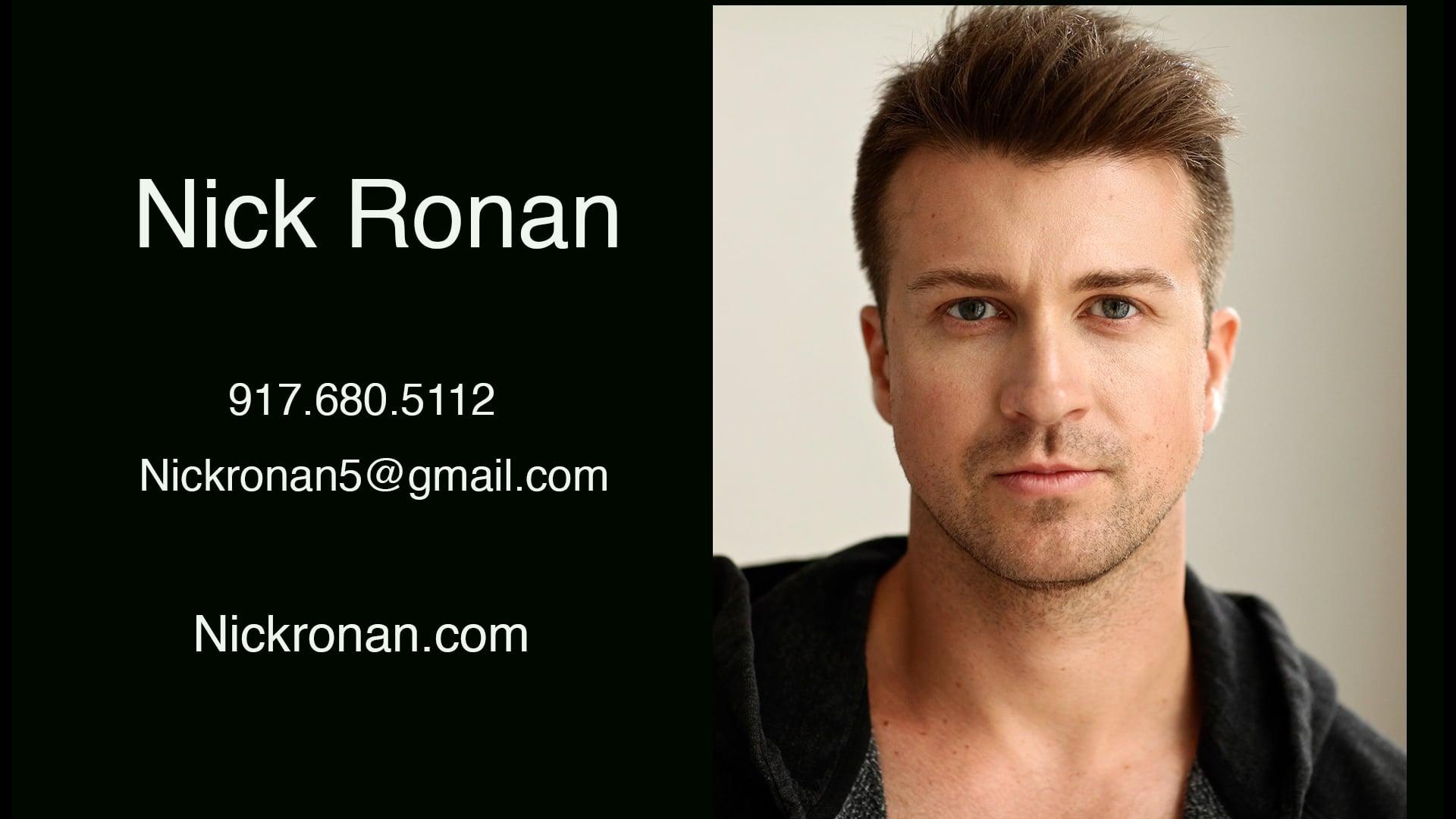 Nick Ronan Showreel - 2021