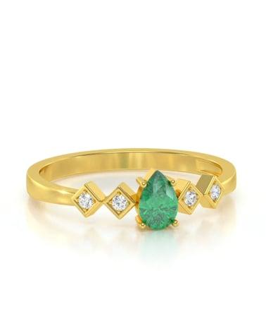 Video: Anelli Oro Smeraldo diamanti 1.296grs