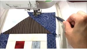 Paper Piecing in the Hoop!