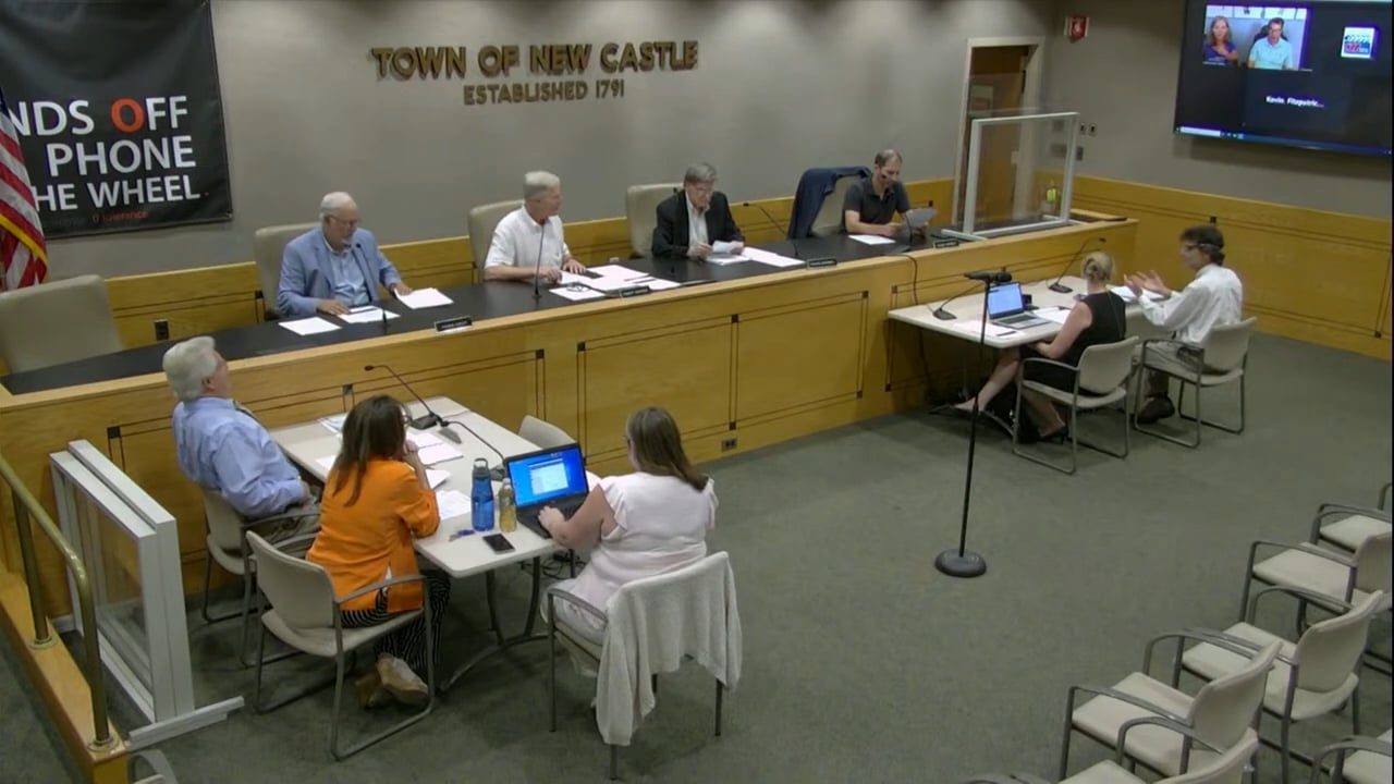 Town of New Castle Planning Board Meeting 7/6/21