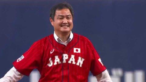 アマチュア野球界のレジェンド!! 元野球五輪代表の杉浦正則さんが始球式!! 2021/7/8 B-E