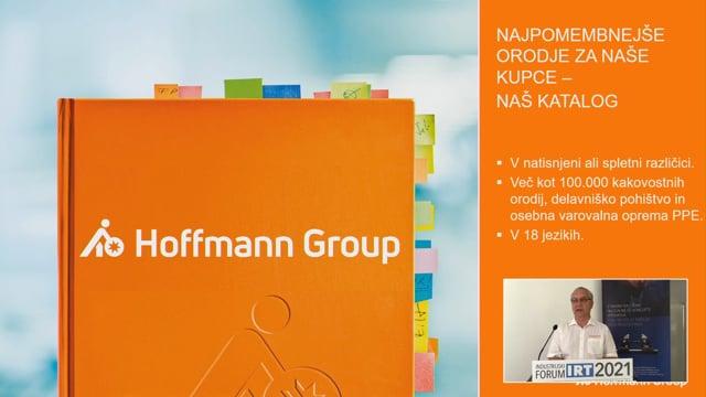Prestavitev glavnih pokroviteljev - Gregor Jamnik, HOFFMANN Group d. o. o.