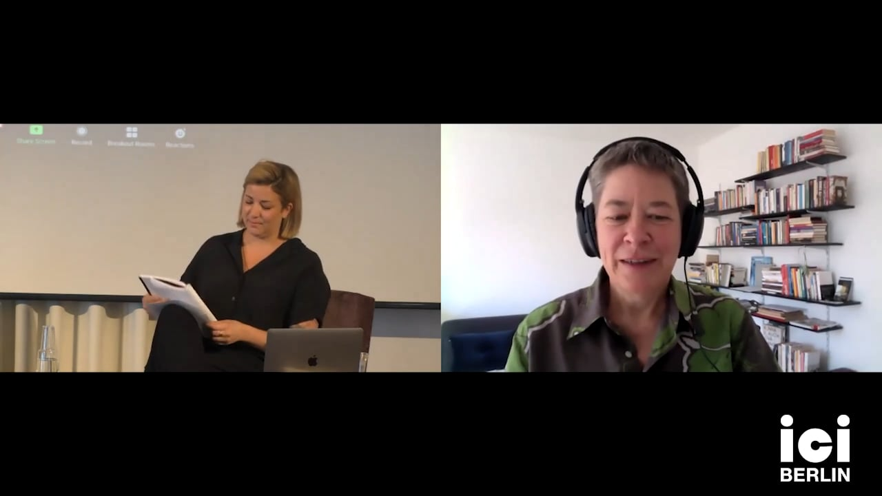 Talk by Antke Engel